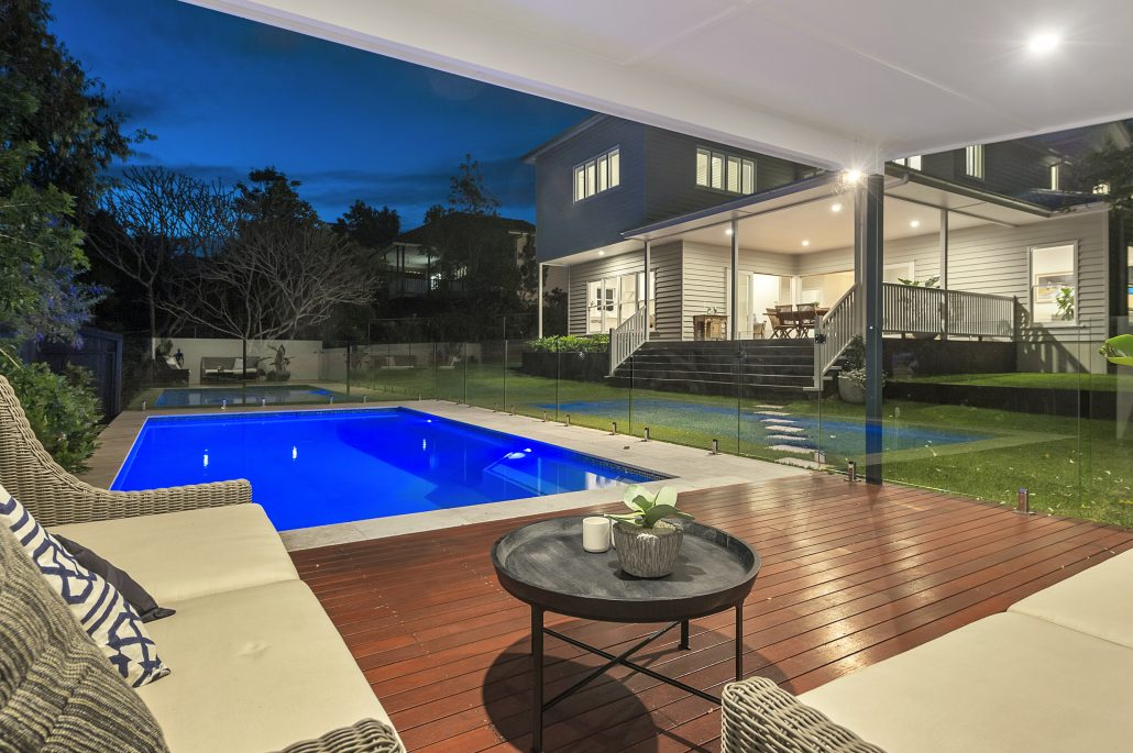 7. Builder Ashgrove Brisbane - Outdoor Area with pool