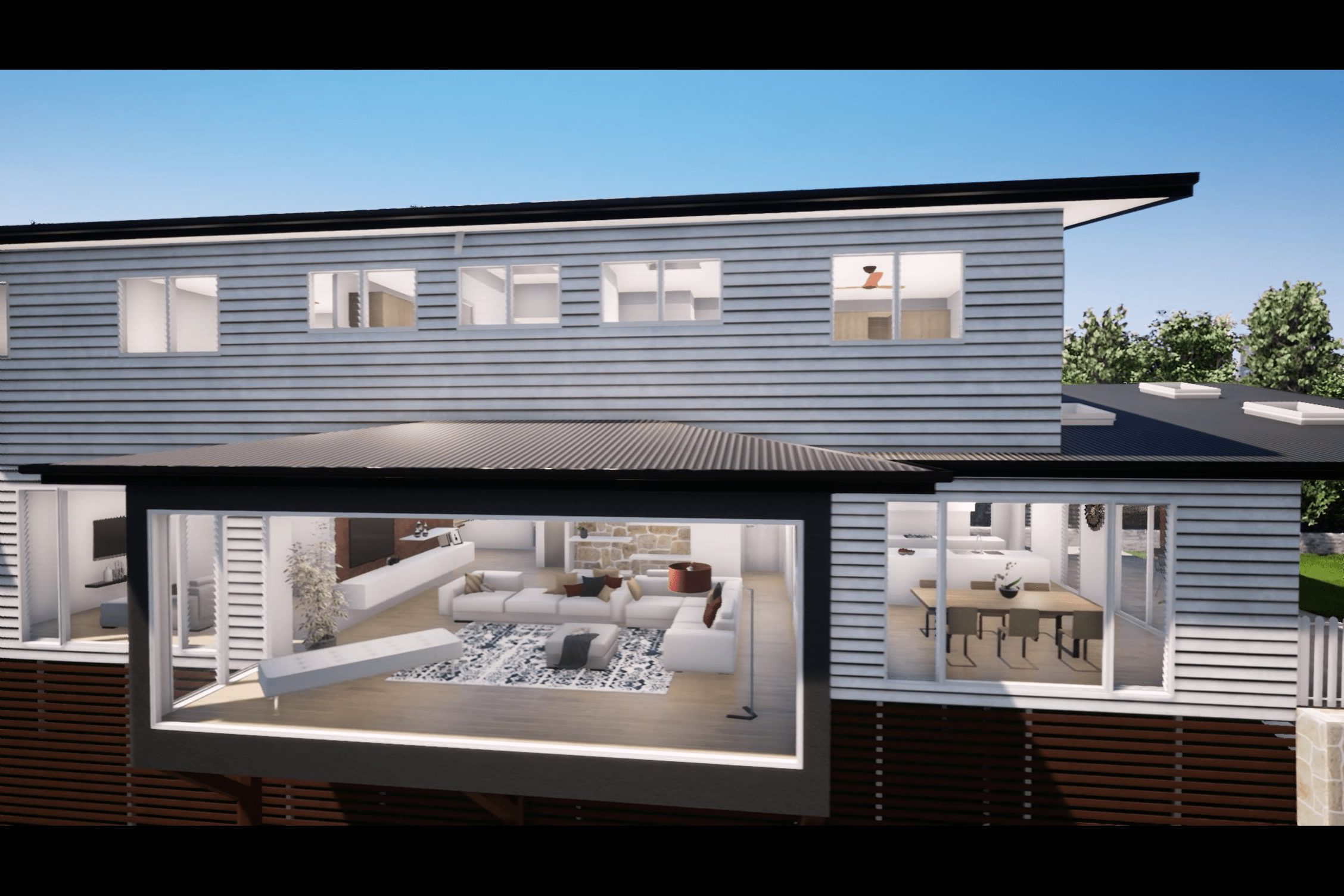 Stafford Brisbane New Home 3D Render by Wendourie Constructions - External 7